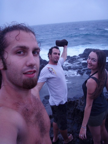 The Crew at the Blow Hole