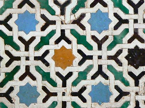 Alhambra Tiles by Roberto Verturini