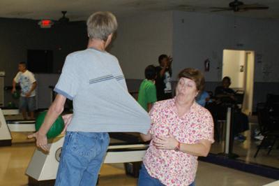 Debbie_Tony bowling