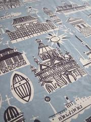 Helsinki-Helsingfors Tablecloth