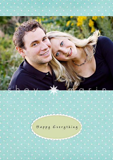 Merry everything front of card Template