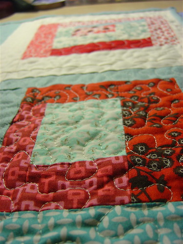 Mini Quilt Close Up