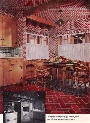 1951 American Home Kitchen