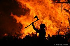 Fire (FotoFling Scotland) Tags: edinburgh torchlightprocession explore