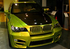 Lime Green Lumma CLR X530 (CarSpotter) Tags: abudhabi bmw what lumma tuned x6 mustdie prestigemotors