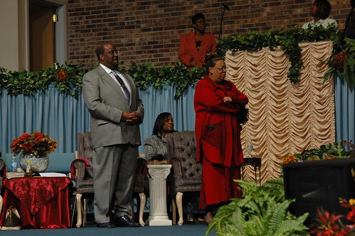 Bishop Clifford and Co- Pastor Pamela Frazier