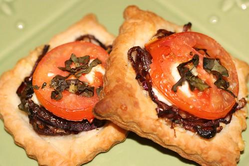 tomato goat cheese tarts