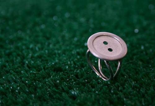 anel botão