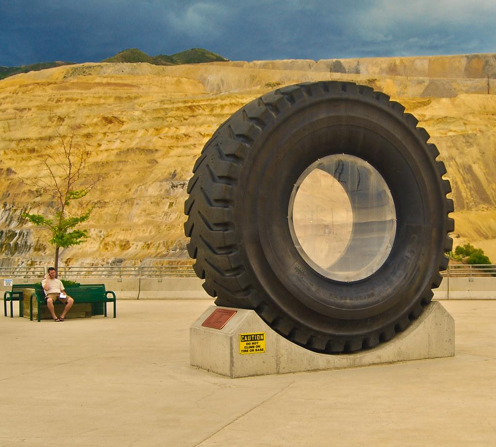 Tire of Huge Dump Truck