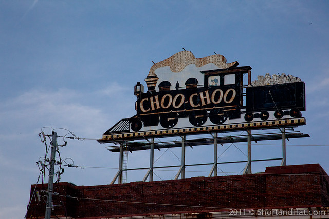 We found the Chatanooga Choo-Choo!