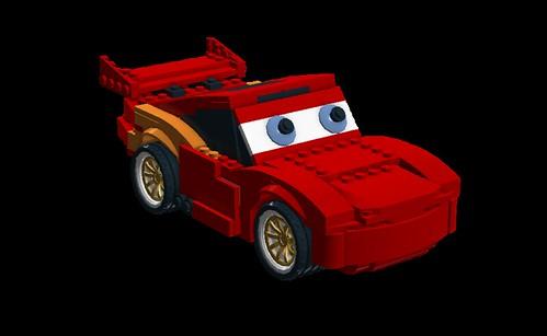 pixar characters in other pixar movies. Lego / Pixar Lightning McQueen