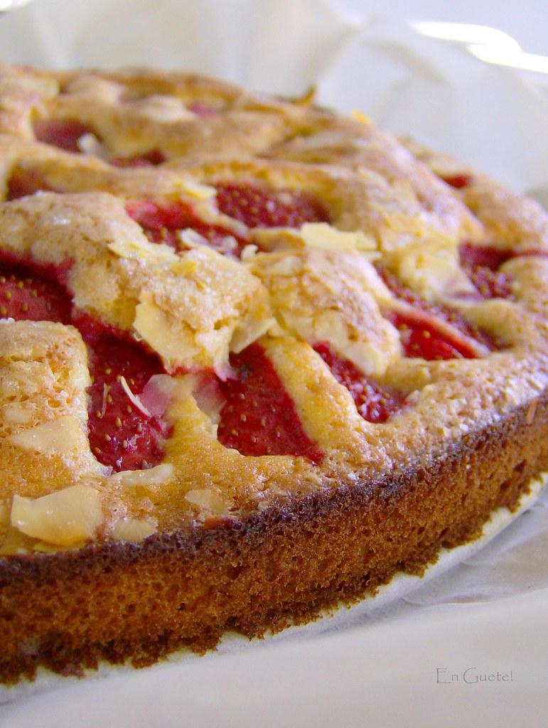 Kuchen rápido de fruta