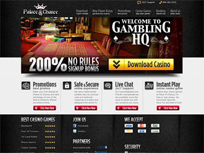 Palace of Chance Casino Home