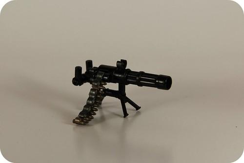 Custom minifig Minigun on Stand
