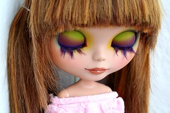 Little dream (erregiro) Tags: butterfly ginger eyes doll lashes makeup lips blythe custom sbl asil reroot carvin erregiro canace