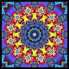 Pinch Me, I'm Dreaming (Lyle58) Tags: abstract geometric circle kali kaleidoscope mandala symmetry zen harmony reflective symmetrical balance fractals multicolored circular kscope kaleidoscopic kaleidoscopes tierazon kaleidoscopefun ~vivid~ kaleidoscopesonly
