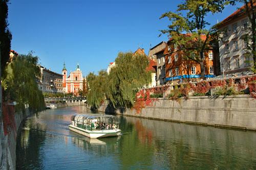 Tour en barco por Liubliana