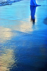 NOVIA (septta) Tags: sunset sea sky reflection atardecer bride mar nikon dominicanrepublic cielo reflejo 50mmf18d reflexions puntacana republicadominicana novia bahiaprincipe d80 nikoniste septta