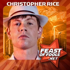 Author Christopher Rice on the Feast of Fools podcast!