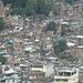 view of rocinha favelas from above