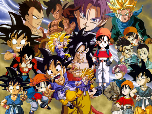 dragon ball gt goten. Dragonball Z, Dragon Ball GT,