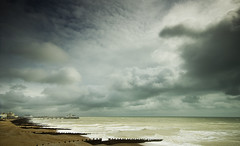 Eastbourne Coast (grahambrown1965) Tags: sea sky cloud seascape water sussex pier pentax shoreline dramatic sigma stormy shore eastbourne getty 1020mm eastsussex istds gettyimages pentaxistds sigma1020mmf456exdc justpentax landscapesdreams skyascanvas thatsbositn gettyimagesandtheflickrcollection