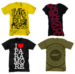Paramore Spring 2008 (chrisrushing) Tags: rock shirt punk band tshirt merch dara apparel tees paramore bandmerch chrisrushing thedara