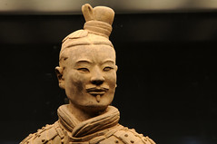 Chine  - Xian  - Terra Cota Warriors (Thierry B) Tags: voyage china travel sculpture art portraits geotagged soldier army photography photo reisen travels asia asien dr xian historical warriors asie   2008 geotag sculptures lintong necropolis soldat ch chine shaanxi arme voyages  porcelana  geolocation photographies qinshihuang   ncropole porcellana  guerriers terracotawarriors porceln   redbubble trungquc qinshihuangdi  qinsarmies   themiddlecountry thierrybeauvir beauvir wwwbeauvircom 20080516 lempiredumilieu grandearmedeterrecuite  guerriersdexian   droitsrservs   armedessoldatdeterrecuite lintongdistrict
