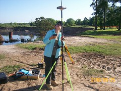 Iris with TopCon GPS (ahmed_tarig) Tags: texas near houston sinkhole | daisetta