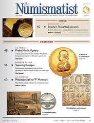 Numismatist June 2008 contents page