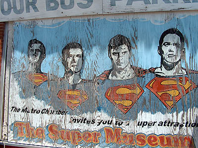 Superman Billboard : Metropolis, IL / Michelle Snow