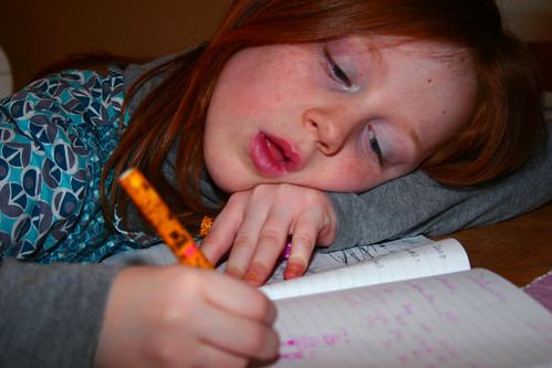 homework. by apdk, on Flickr