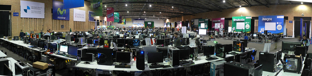 Campus Party Colombia vista