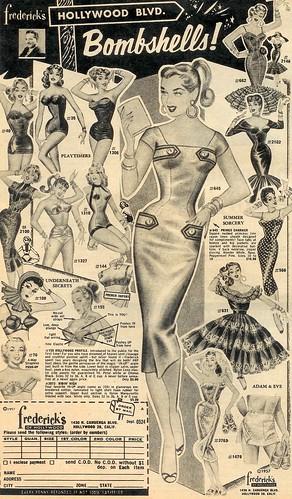 Hollywood Blvd. Bombshells 1957 (by senses working overtime)