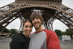 Matt & Nikki at Eiffel Tower