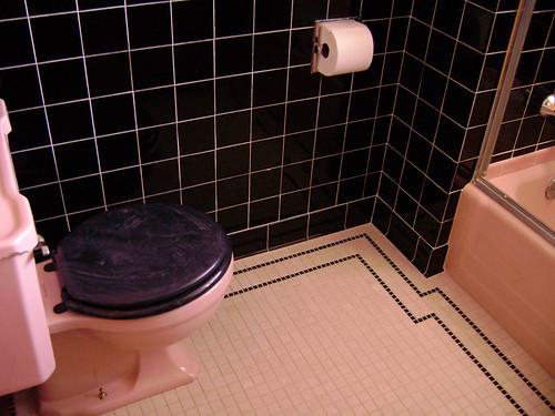 1958 Pink Bathroom