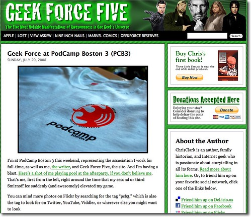 Geek Force Five uses CC BY-NC-ND without Attribution
