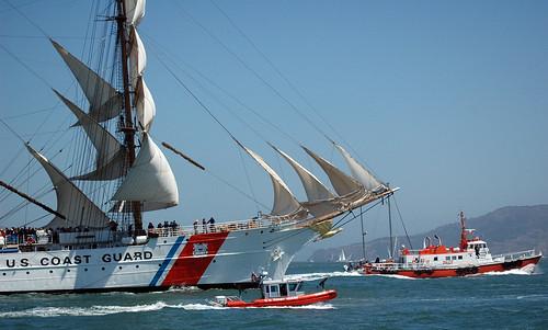 sanfrancisco ca sailboat us d70 eagle safe cutter barque uscg uscgc uscgaux auxpa