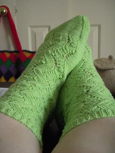 Spring Forward Socks Done