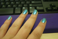 Turquoise Nails Rock!