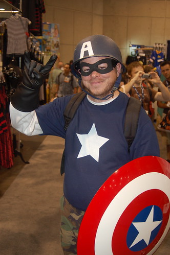 Comic Con 2008: Captain America is F'n Metal