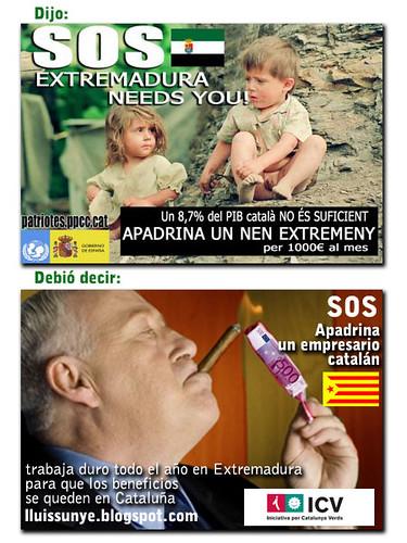 montaje catalanes - extremeños