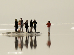 Urmia Salt Lake /     (Mehrad.HM) Tags: sea lake reflection nature salt saltlake tab