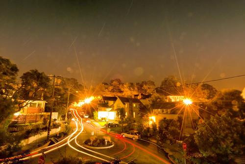 North Berkeley at Night
