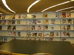 Adult Magazines (Peterborough Public Library) Tags: magazines studytable adultsection