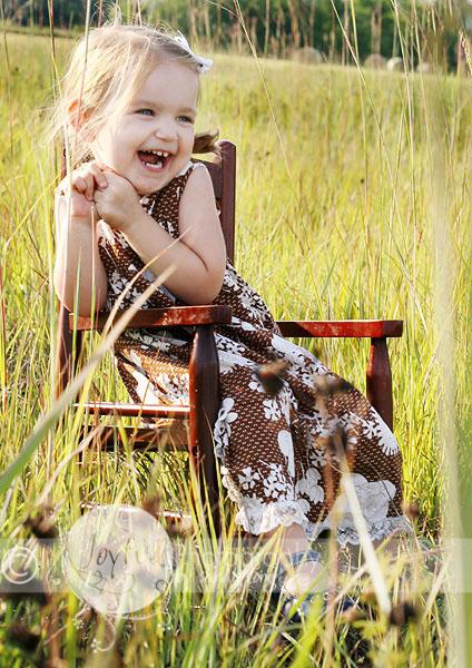 Sunny Happy Girl