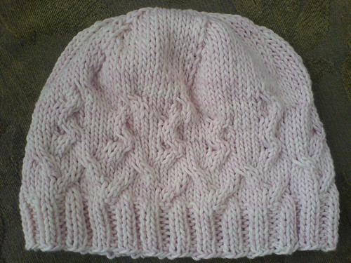 Small Cabled Hat