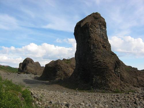 columnes basàltiques a Hlóðaklettar