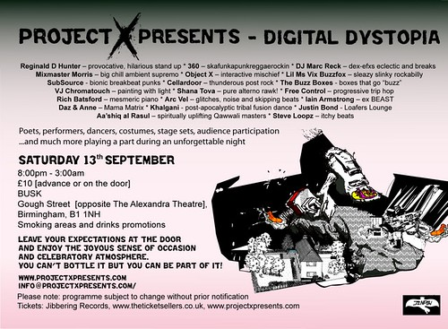 Project X Presents Digital Distopia