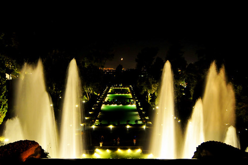 A night at Villa d'Este, Tivoli (RM) Italy